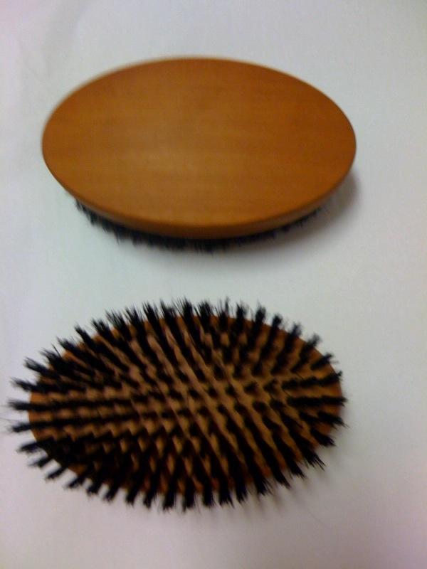 Mens Hair Brush Soft Boars Bristles