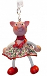 Piggy with Dress Bouncie