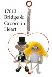 Bride and Groom in Heart Bouncie
