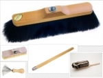 Spring Cleaning Set 1 horse hair broom with handle, duster, brush cleaning brush