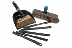 Swiss Move Broom Smokey Broom and dustpan and brush set Ebnat Nessentials