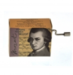 Hand Crank Musik Box Fridolin Mozart Little Night Music