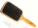 Paddle brush large boars bristles and nylon pins in cushioin pneumatic (2)
