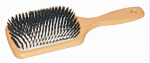 Paddle brush large boars bristles in cushioin pneumatic (2)