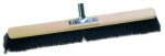Large Hall Broom Horsehair Mixture Pushbroom Made in Germany Nessentials Sarasota