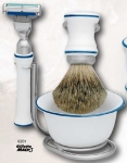 Shaving Set 4 Porcelain