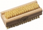 Natural nailbrush Tampico Fiber bristles and beechwood handle