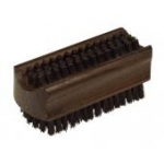 Nailbrush Thermowood Large black