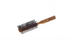 Olivewood Hair Brush Natural Boars Bristles half-round