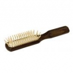 Thermowood Head Massage Hair Brush medium