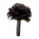 Skin Relaxer Black Ostrich Feathers