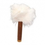 Skin Relaxer White Ostrich Feathers