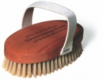 Massage Brush Pearwood