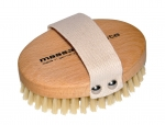 Dry Body Brush Soft Boar's Bristles Round large