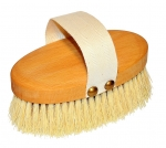 Vegan Dry Body Brush long plant fibers