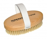 Dry Body Brush  Boar Bristles oval