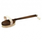 Bath Brush Thermowood light