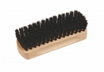 Shoe Shine Brush 1 black horsehair