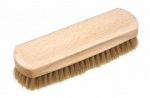 Shoe Shine Brush 2 light horse hair
