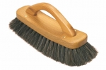 Shoe Shining Brush Luxury Horsehair black