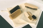 Shoebrush Travel Set 1 horsehair and bristles