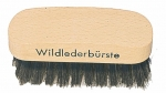 Suede Brush 3 brass and bristles