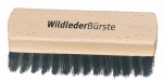 Suede Brush 4 brass and bristles